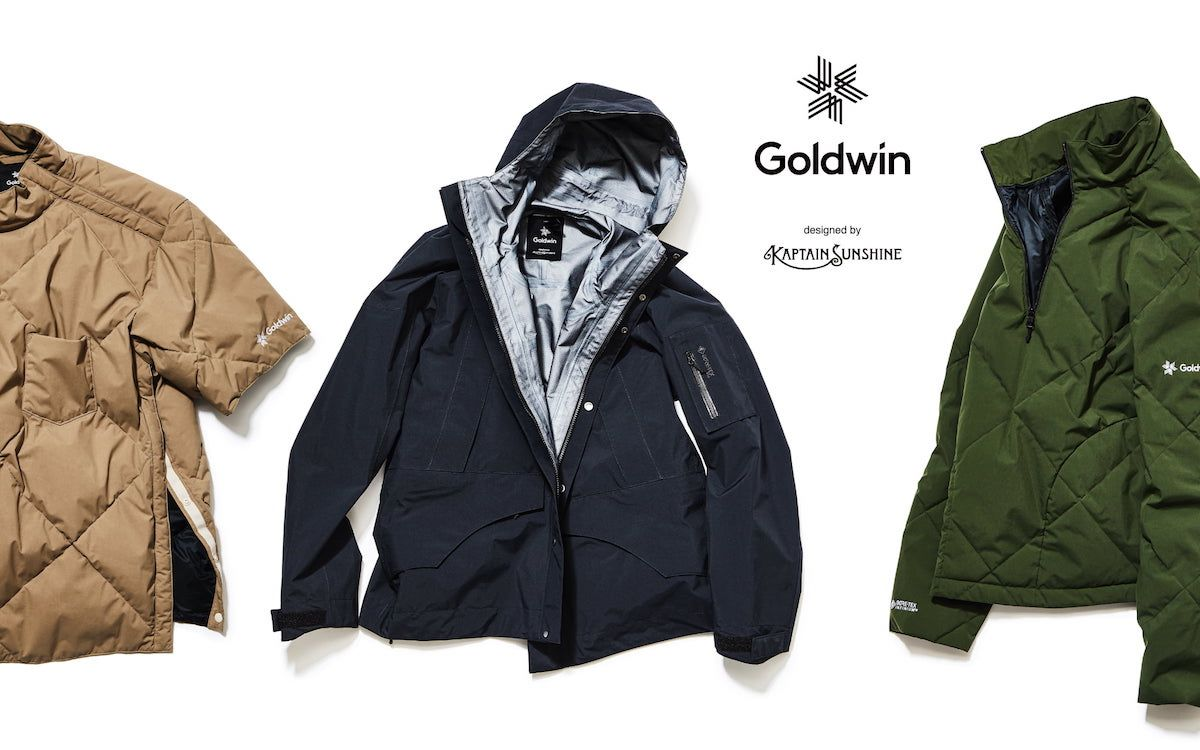 Goldwin × KAPTAIN SUNSHINEコラボレーション「Snow dwellers」