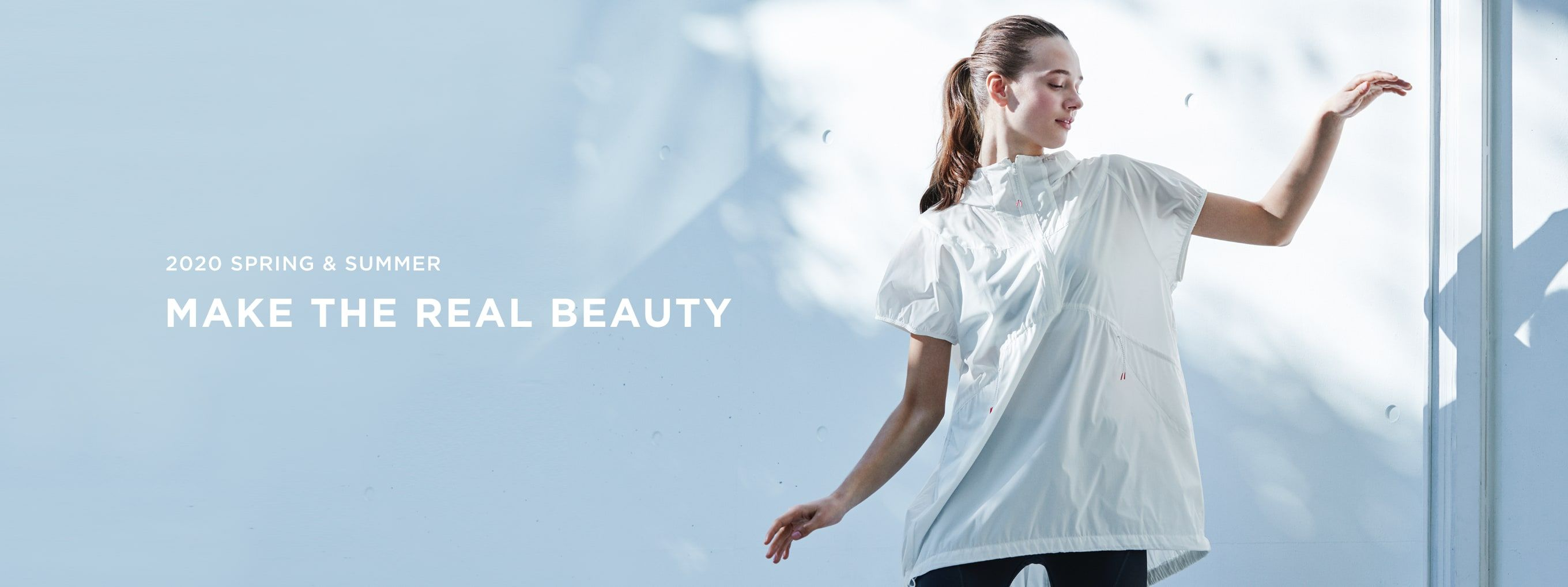 2020 SPRING SUMMER MAKE THE REAL BEAUTY