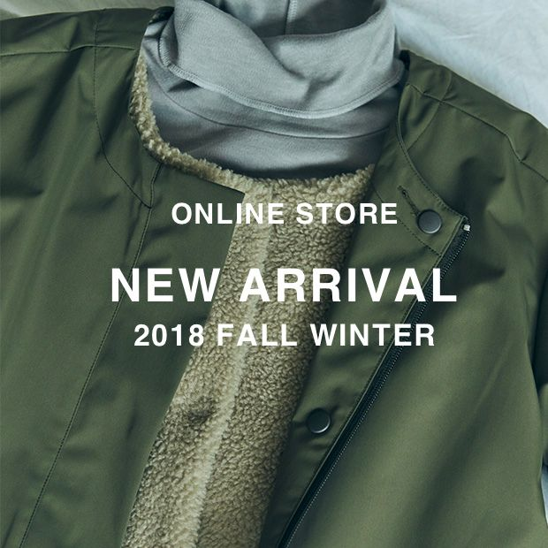NEW ARRIVAL<br>2018 FALL & WINTER