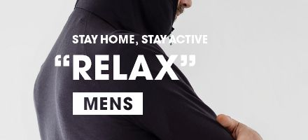 "STAY HOME, STAY ACTIVE ""RELAX"" MENS"