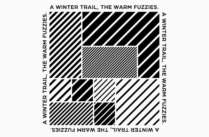A WINTER TRAIL ,<br>THE WARM FUZZIES<br> CAMPAIGN